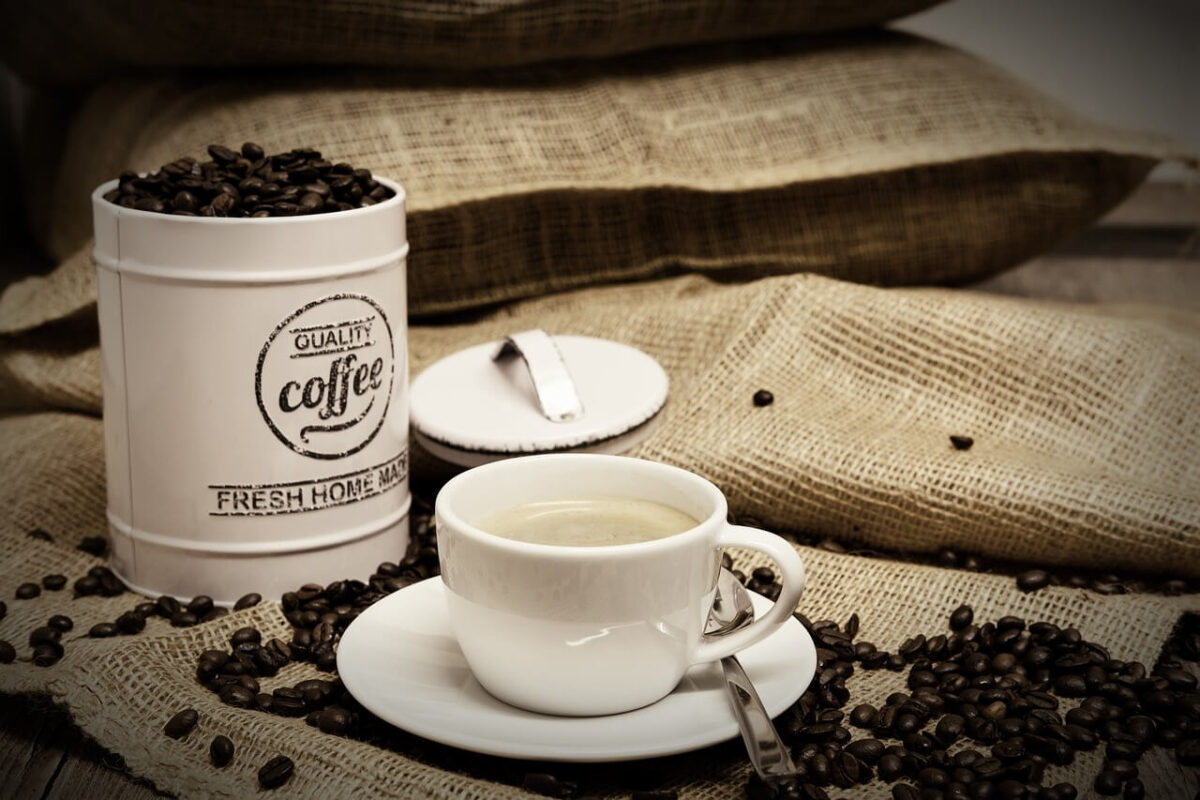 咖啡豆保存圖