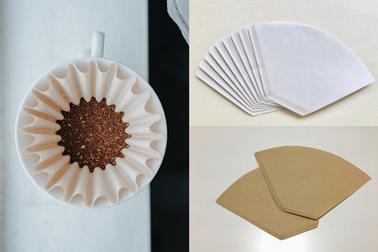 咖啡濾紙的挑選