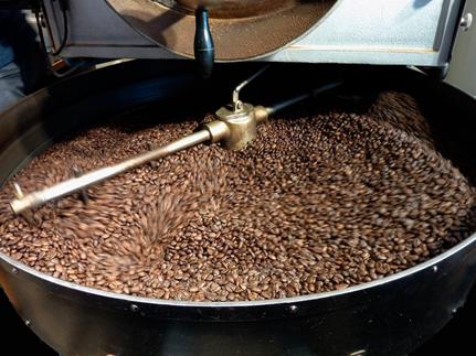 咖啡烘焙圖